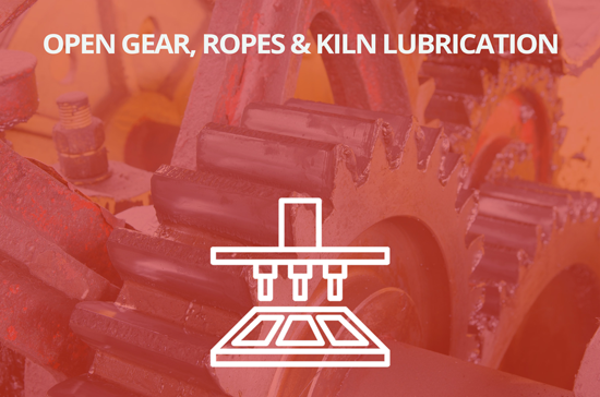 Open Gear, Ropes & Kiln Lubricantion